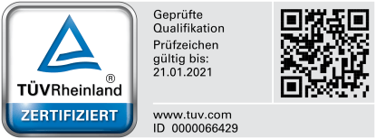 TÜV Zertifikat Datenschutz Karlsruhe